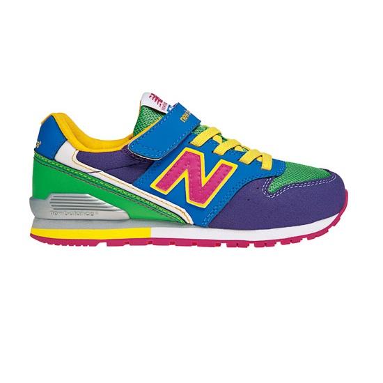 <SOLDOUT>【ニューバランス(newbalance)】KV996 パープル/グリーン(PGY) 人気モデル「996」をテイクダウンしたキッズバージョン!子供靴