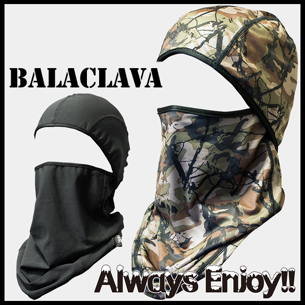 WOMEN MENS マスク 防寒 A.R.K 大人用 バラクラバ スノーボード フェイスマスク