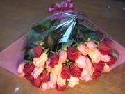 【送料無料】【ラッピング無料】バラ花束10000円コミコミセット