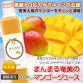 奄美マンゴージュース300ml【まんまる工房】【ジュース】【じゅーす】【まんごー】【濃縮還元】