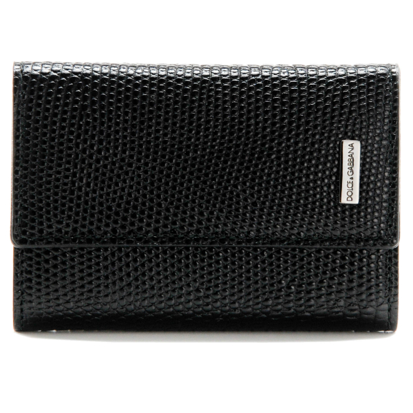 DOLCE&GABBANA/ドルチェ&ガッバーナ  型押しカーフスキン メンズ 6連キーケース BP0874 A1095 80999