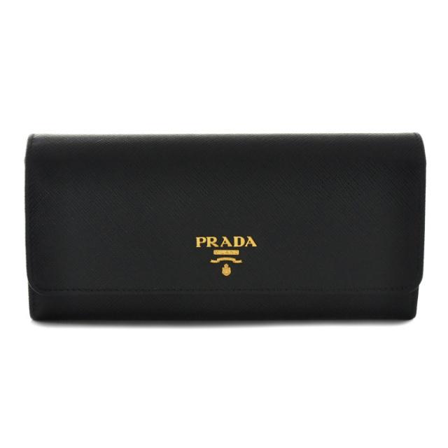 プラダ PRADA サイフ さいふ 二つ折り長財布 型押しカーフスキン 1MH132 ZLP D9A
