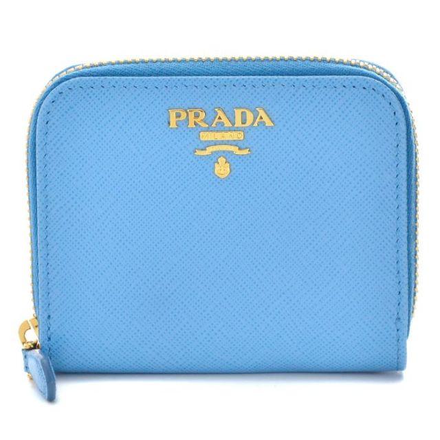 プラダ PRADA 2017年春夏新作 サフィアーノレザー 型押しカーフスキン コインケース 1MM268 QWA P9S