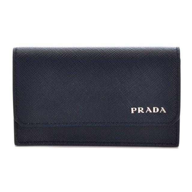 プラダ PRADA バッグ BAG メンズ カードケース 型押しカーフスキン 2MC122 QTD 216