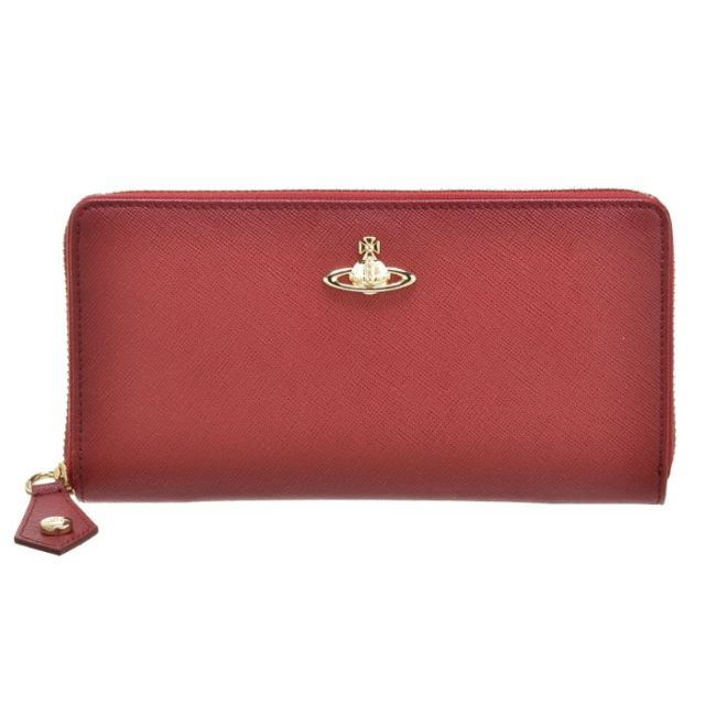 ヴィヴィアン ウエストウッド Vivienne Westwood サイフ さいふ ラウンドファスナー長財布 型押しカーフスキン 321289 0016 0032