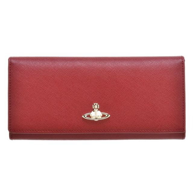 ヴィヴィアン ウエストウッド Vivienne Westwood サイフ さいふ 二つ折り長財布 型押しカーフスキン 321291 0016 0032