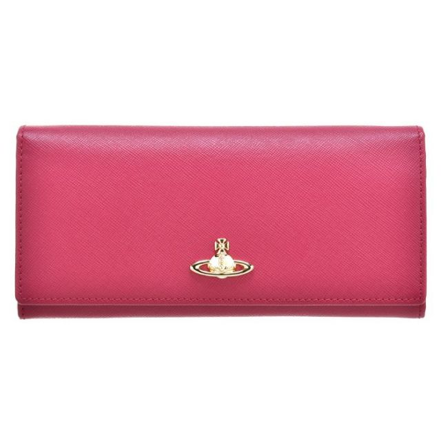 ヴィヴィアン ウエストウッド Vivienne Westwood サイフ さいふ 二つ折り長財布 型押しカーフスキン 321291 0016 0110