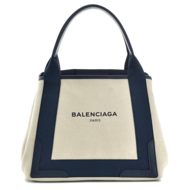 バレンシアガ BALENCIAGA バッグ BAG トートバッグ NAVY CABAS S 339933 AQ38N 4081