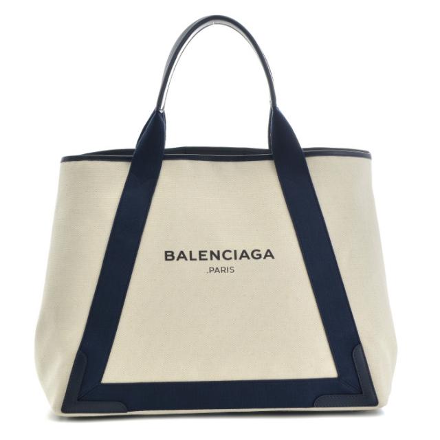 バレンシアガ BALENCIAGA バッグ BAG トートバッグ NAVY CABAS M 339936 AQ38N 4081