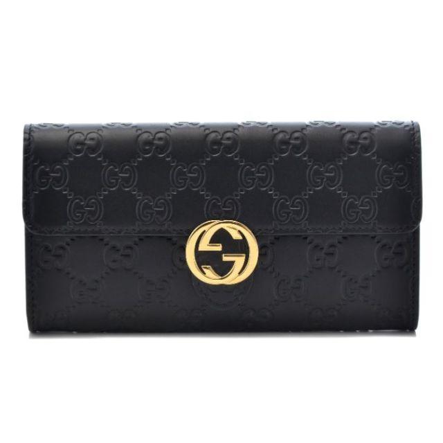 グッチ GUCCI サイフ さいふ 二つ折り長財布 Gucci Icon 369663 CWC1G 1000