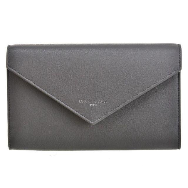 バレンシアガ BALENCIAGA サイフ さいふ 二つ折り長財布 PAPER ZA MONEY 371661 DLQ0N 1320