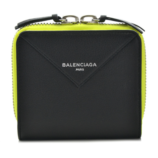 バレンシアガ BALENCIAGA サイフ さいふ 二つ折り財布 PAPER ZA BILLFOLD 371662 DLQ1N 1090