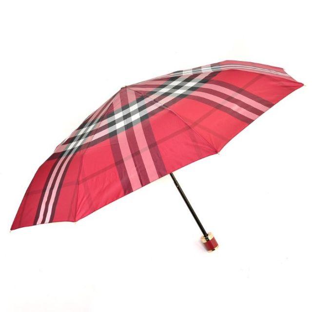 バーバリー BURBERRY 2017年春夏新作  折りたたみ傘 ポリエステル 4004587
