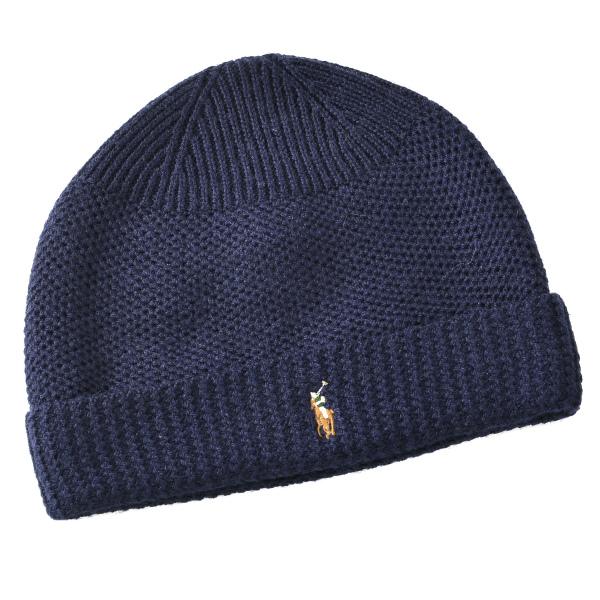 ポロ ラルフ ローレン POLO RALPH LAUREN  メリノウール100% 帽子 6F0402 0004 433
