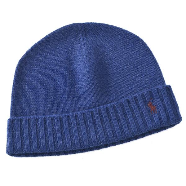 ポロ ラルフ ローレン POLO RALPH LAUREN  カシミア80% ラムウール20% 帽子 6F0407 0002 412