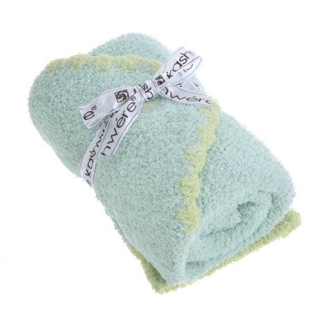 カシウエア KASHWERE  ブランケット&キャップセット SOLID BABY BLANKET BB675130 0001 0003【GIFT】