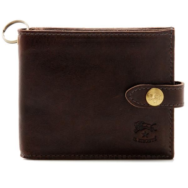 IL BISONTE/イルビゾンテ  カーフスキン 二つ折り財布 C0866 PO 567