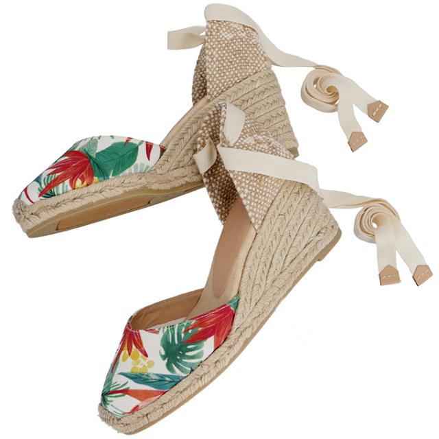 カスタニエール CASTANER 2017年春夏新作 靴 サンダル キャンバス CARINAH6 348 TROPIC