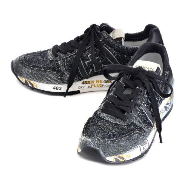プレミアータ PREMIATA 靴 スニーカー グリッター×カーフスキン DIANE 0006 1809