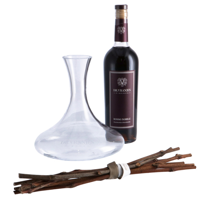 Dr.Vranjes ドットール・ヴラニエス DECANTER 750ml ROSSO NOBILE アウトレット ディフューザー ギフトセット DIFFUSER02 0011【GIFT】