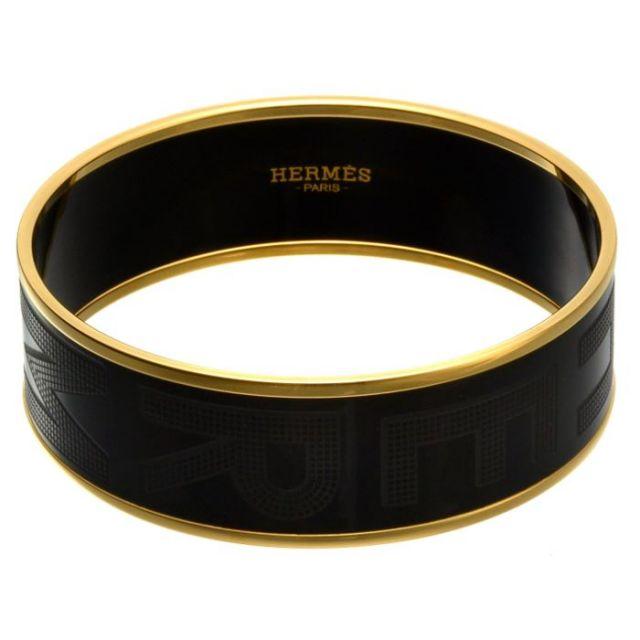 エルメス HERMES   バングル HERMES SELLIER エルメス・セリエ H111694F0365