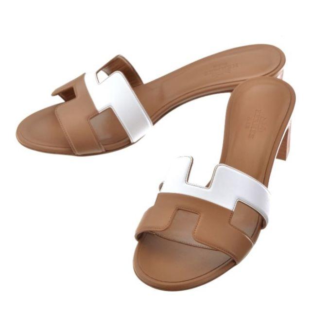エルメス HERMES 靴 サンダル OASIS オアジス H162208ZPB