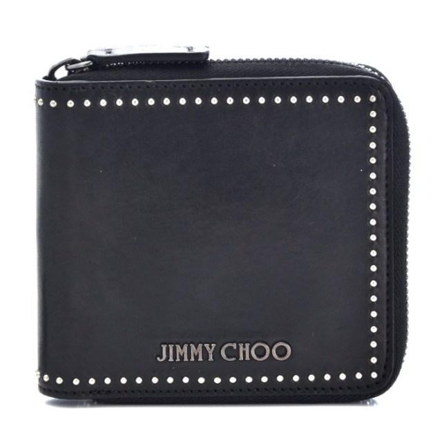 ジミーチュウ JIMMY CHOO 2017年春夏新作  メンズ ラウンドファスナー財布 LAWRENCE TIA 0001
