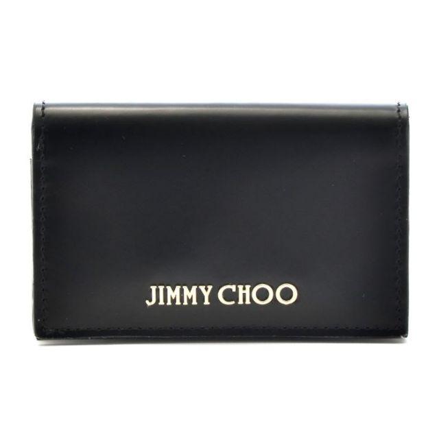 ジミーチュウ JIMMY CHOO 2017年春夏新作 名刺入れ カードケース カーフスキン NELLO SBK 0001