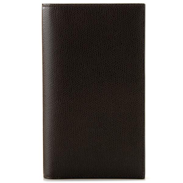 【送料無料】ヴァレクストラ VALEXTRA カーフスキン 二つ折り長財布 V8L15 028 000T