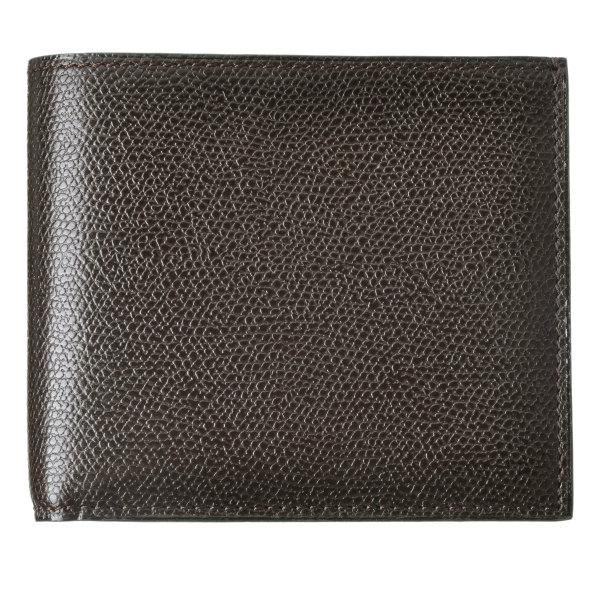 【送料無料】ヴァレクストラ VALEXTRA カーフスキン 二つ折り財布 V8L23 028 000TRD