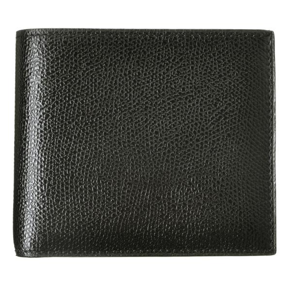 【送料無料】ヴァレクストラ VALEXTRA  カーフスキン 二つ折り財布 V8L23 029 000NRD