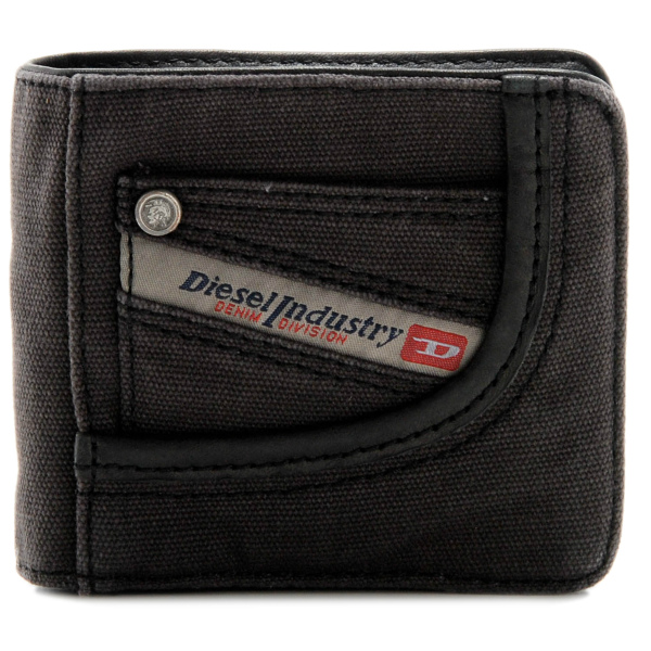 DIESEL/ディーゼル  THE BRAVE ROOTS HIRESH 二つ折り財布 X01942 PR125 T8013