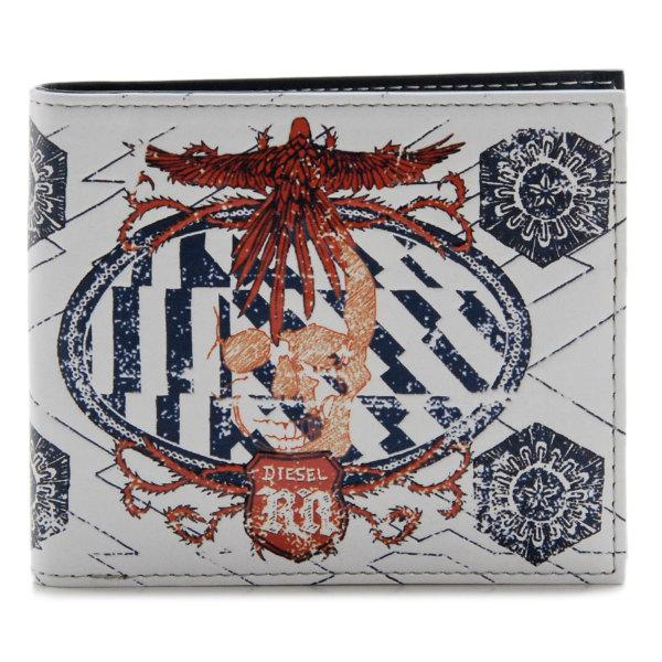 DIESEL/ディーゼル  MONEY-MONEY HIRESH SMALL 二つ折り財布 X01983 PR795 H4871