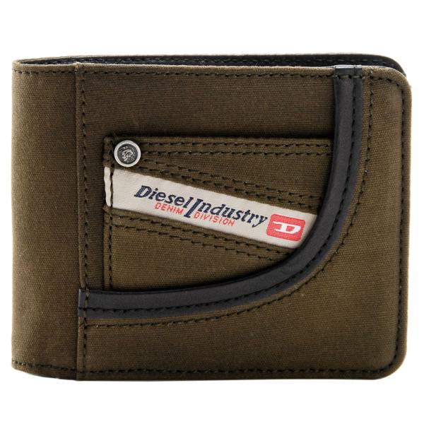 DIESEL/ディーゼル HIRESH 二つ折り財布 X02108 P0161 H2906