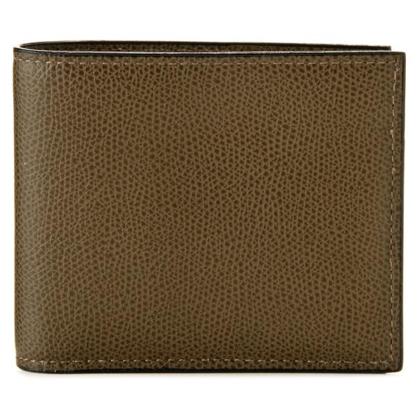 【送料無料】ヴァレクストラ VALEXTRA カーフスキン 二つ折り財布 V8L04 028 00AL