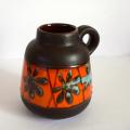 ac0199西ドイツ製陶器フラワーベース