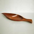 ac0250ウッドトレー木の葉型*amber designビンテージ北欧中古家具アンティーク雑貨通販アンバーデザイン  素材
