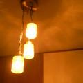 lt0053アメリカンレトロな3灯シーリングライト*amber design*北欧家具やビンテージ雑貨等のインテリア通販