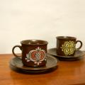 tw0217オランダのカップ&ソーサーペアセット*amber design*北欧家具やビンテージ雑貨等のインテリア通販