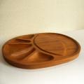 tw0294チーク製フルーツトレイカッティングボード付*amber designビンテージ北欧中古家具アンティーク雑貨通販アンバーデザイン
