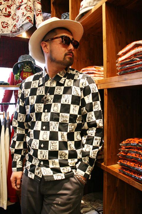 WEIRDO/ウィアード   「WEIRDO INITIALS - L/S SHIRTS」  オリジナルチェッカーシャツ