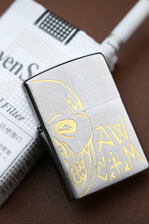 CxTxM×AMERICAN WANNABE   「AW 5th Anni Special CxTxM SKULL ZIPPO」   CxTxMデザインZIPPO
