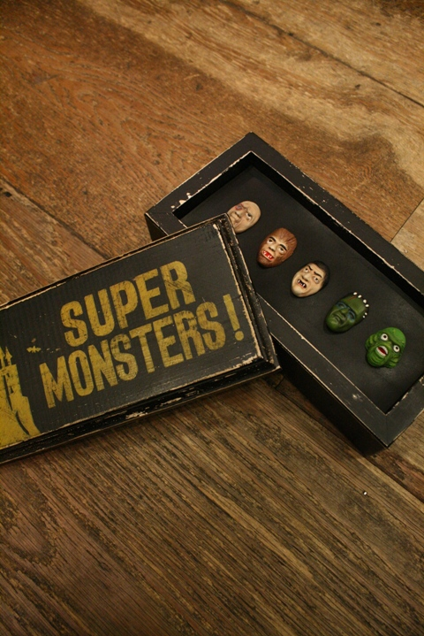 WEIRDO  「WRD SUPER MONSTERS PINS」  モンスターピンズコンプリートボックス