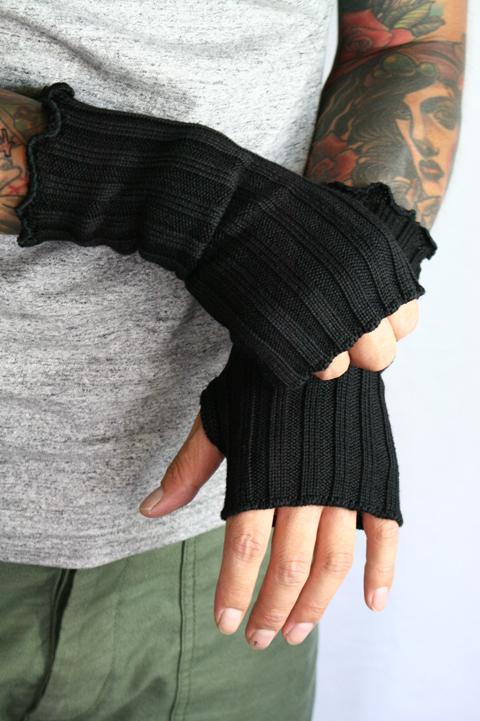 BLACK SIGN/ブラックサイン  「BS Hand Knit Warmer」  ハンドウォーマー