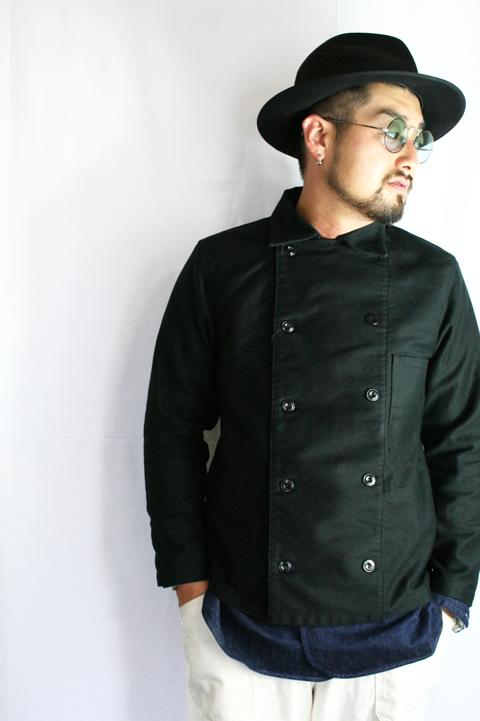 BLACK SIGN/ブラックサイン  「Moleskin Chef Coat」   モールスキンシェフコート