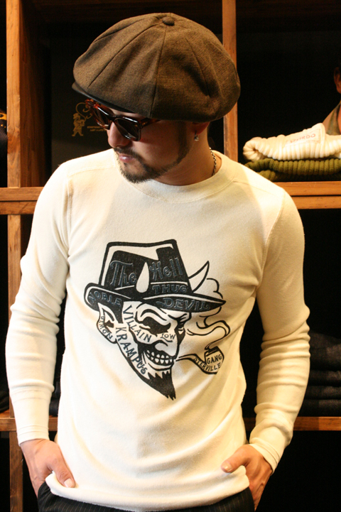 GANGSTERVILLE/ギャングスタービル 「THE DEVIL」 L/S TEE