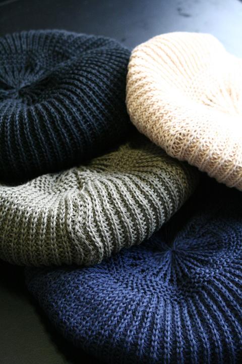 BLACK SIGN/ブラックサイン   「Knit Beret」   ニットベレー