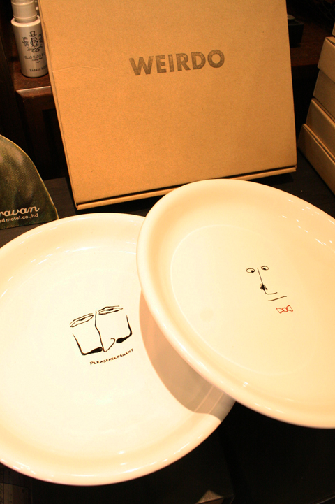 WEIRDO/ウィアード  「PLAY WEIRDO - PLATE」  オリジナルプレート