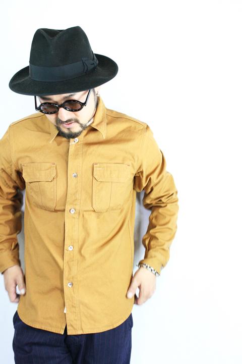 TROPHY CLOTHING/トロフィークロージング   「Logger Shirts」   キャンバスワークシャツ