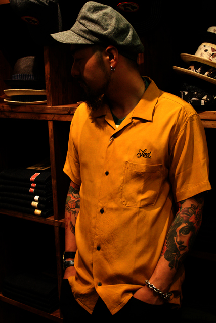 Sadistic Bear 「OPEN COLLARED RAYON SHIRTS」 オープンカラーレーヨンシャツ